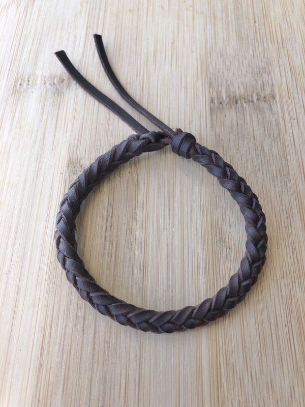 Pulsera de cuero redonda de 6 cuerdas, foto 2