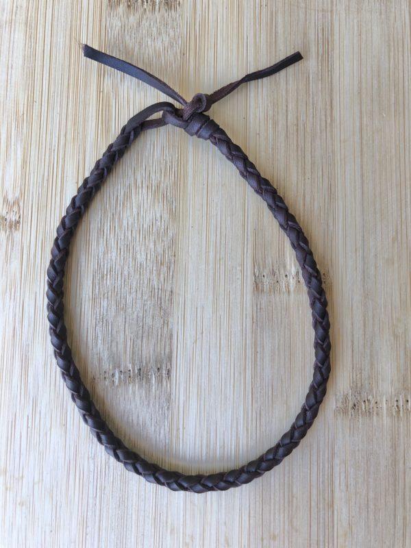 Tobillera de cuero de cuatro cuerdas, foto 2