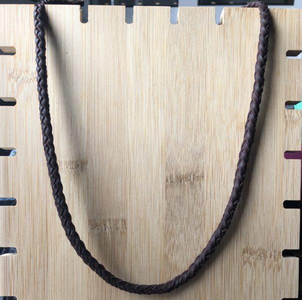 collar trenzado de cuero de 6 cuerdas, foto principal